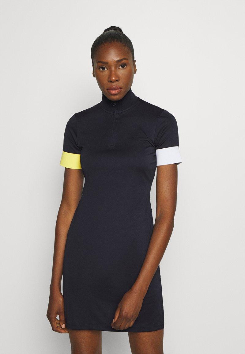 J.LINDEBERG - INES DRESS SET - Sportovní šaty - navy