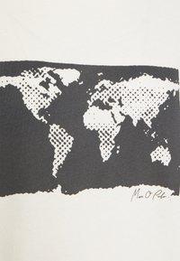 Marc O'Polo - SHORT SLEEVE ROUND NECK - Camiseta estampada - paper white - 2