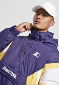 Starter - Winter jacket - starter purple/wht/buff yellow - 4