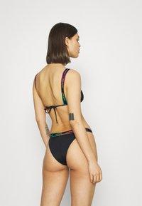 Calvin Klein Swimwear - PRIDE CHEEKY - Bikini bottoms - black - 2
