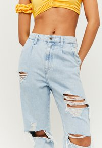 TALLY WEiJL - SLOUCHY - Relaxed fit jeans - blue - 3