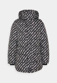 JACKET EVERYTHING IS A COP - Zimní kabát - black