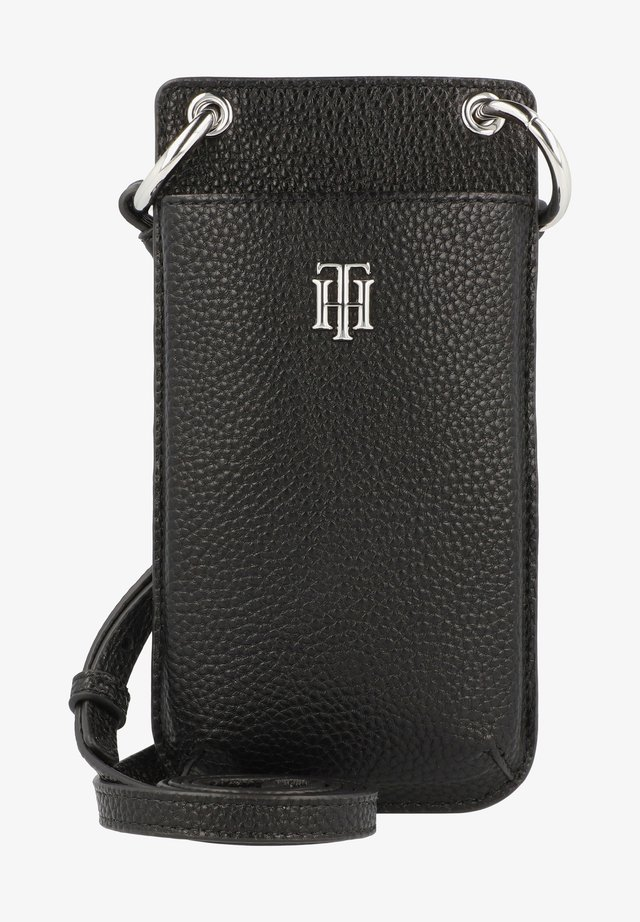 Phone case - black monogram