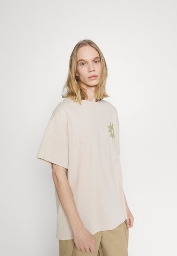 FLOWER - Print T-shirt - beige