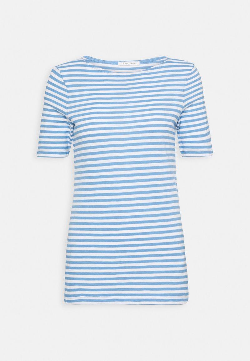 Marc O'Polo - Print T-shirt - blue