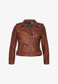 No.1 by Ox - Leather jacket - dark cognac - 4