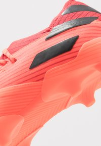 adidas Performance - NEMEZIZ 19.1 FG - Moulded stud football boots - signal coral/core black/red - 2