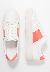 Even&Odd - Trainers - white/coral - 3