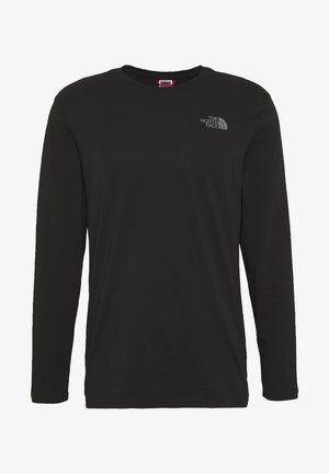 MENS EASY TEE - Langærmede T-shirts - black/zinc grey