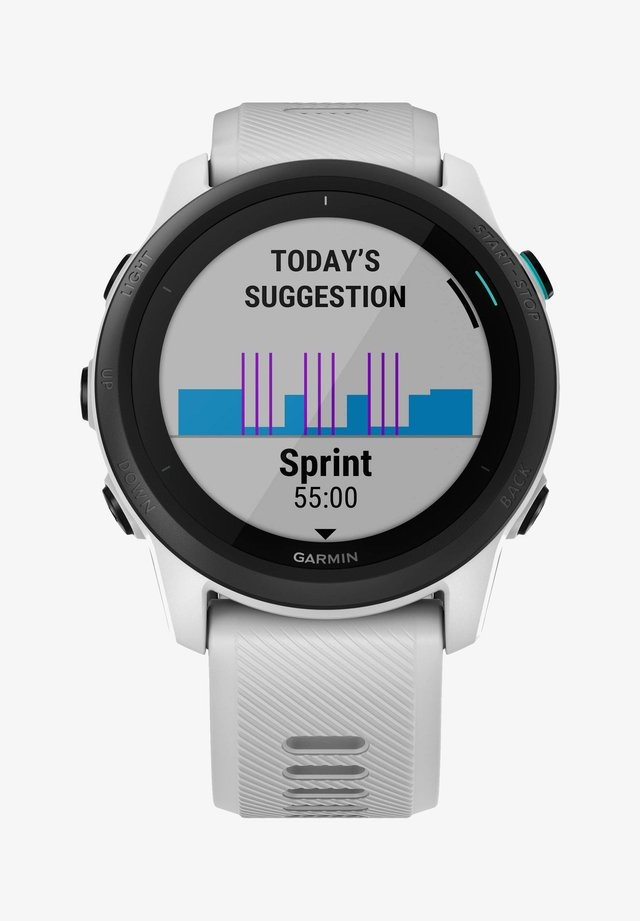 Heart rate monitor - weiss