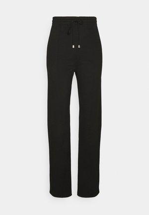 EMMA TROUSERS - Kalhoty - black