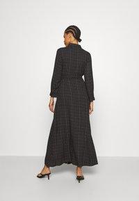 YAS - YASSAVANNA BELT ANKLE DRESS - Maxi dress - black/light taupe - 2