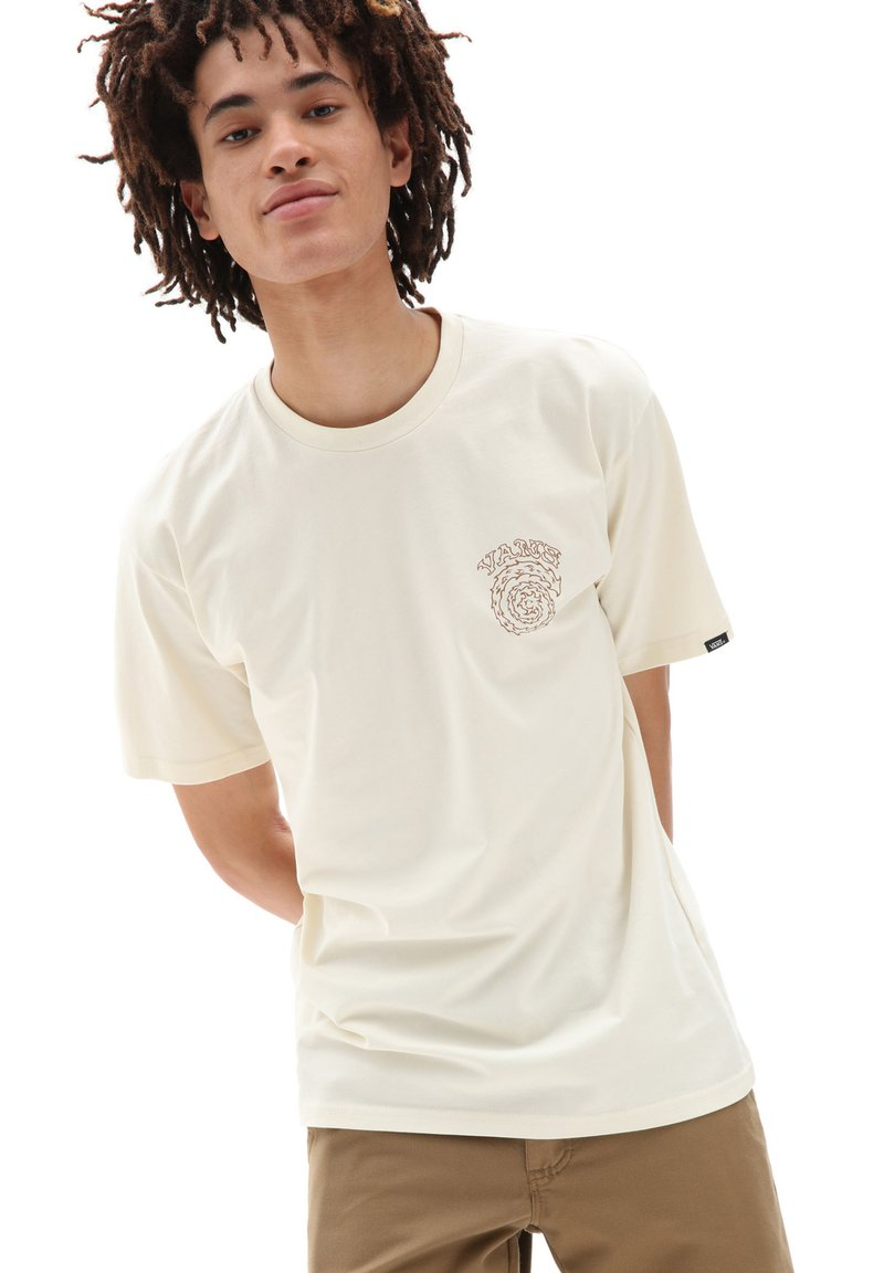 Vans - MN EL SOLE SS - Print T-shirt - seedpearl