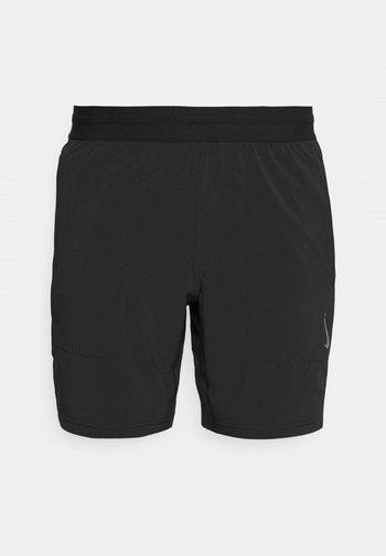 SHORT - Sports shorts - black/gray