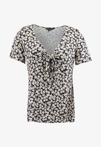 Dorothy Perkins Curve - TIE FRONT - T-shirts print - multi - 3