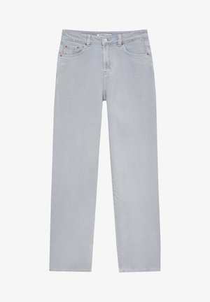 Flared Jeans - light grey