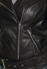 Glamorous Curve - JACKET - Faux leather jacket - black - 5