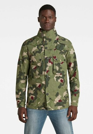 Outdoorjas - hatton contour camo
