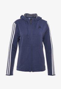 HOODY - Zip-up hoodie - dark blue