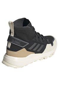 adidas Performance - TERREX HIKSTER MID - Scarpa da hiking - core black/grey six/white - 3