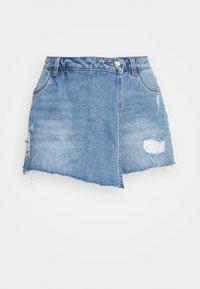 ONLY - ONLTEXAS LIFE - Denim skirt - light blue denim - 4