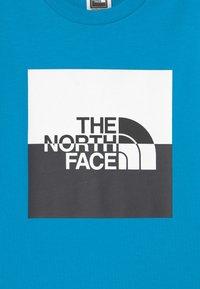 The North Face - YOUTH HALF DOME UNISEX - Camiseta estampada - meridian blue/black/white - 2