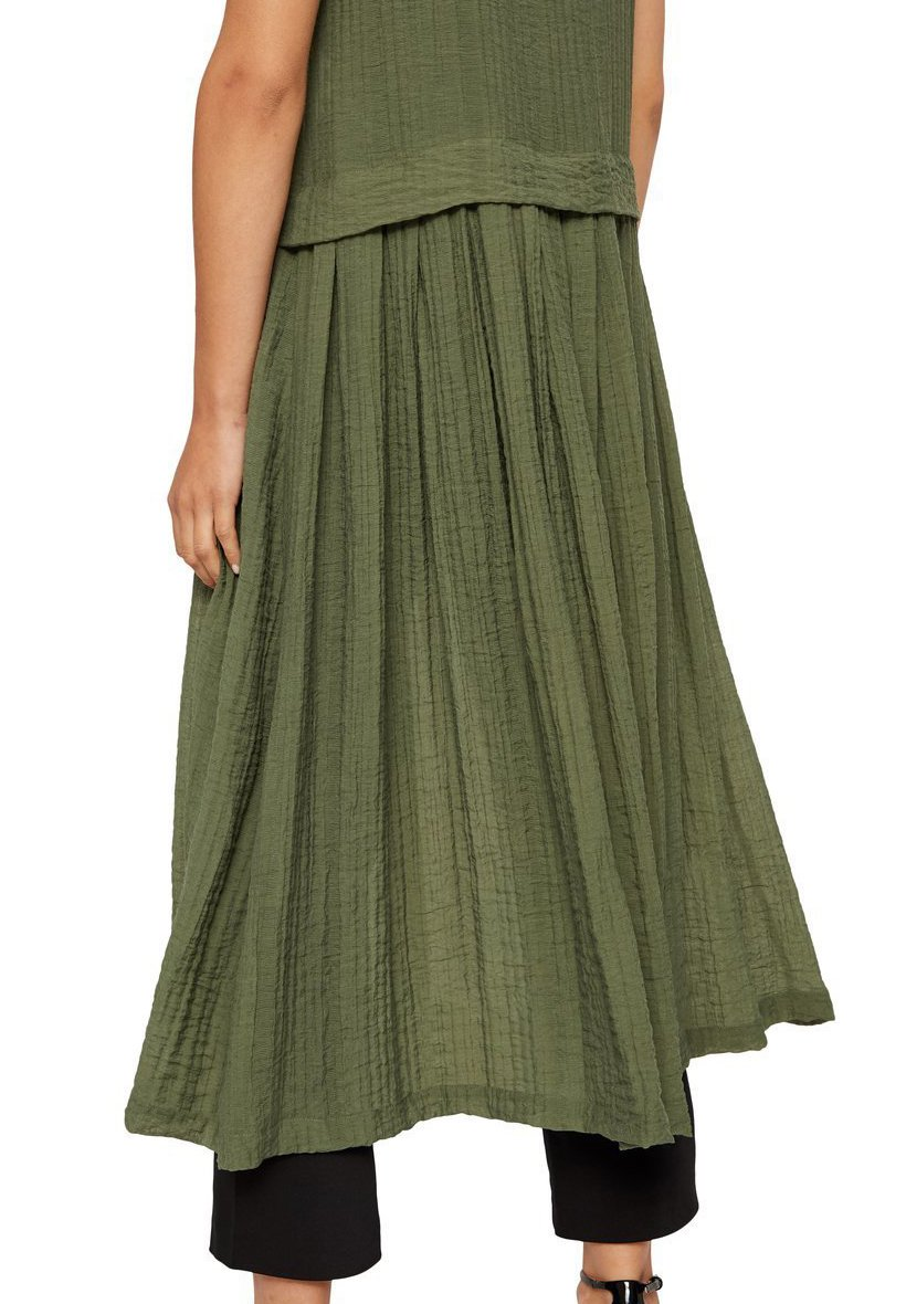 Femme KLEID OHNE ÄRMEL HALBTRANSPARENTES - Robe chemise