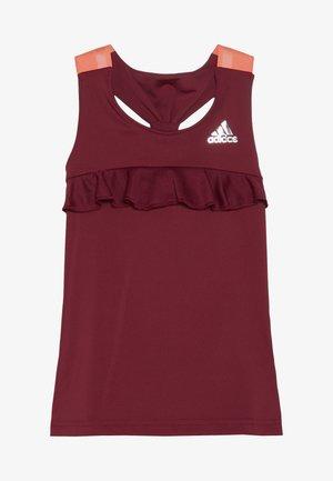 RIBBON TANK - Sports shirt - bordeaux