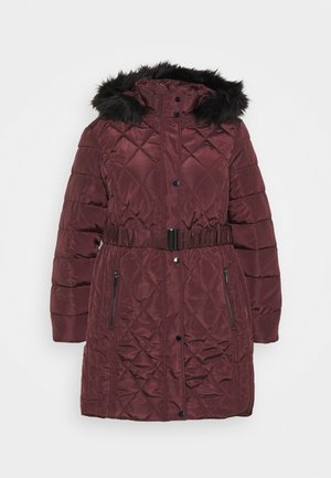 DIAMOND LONG LUXE - Winterjas - wine