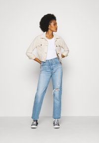 Hollister Co. - JACKET  - Summer jacket - cream - 1