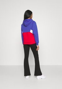 Fila - AMYA CROPPED HOODY - Sweatshirt - clematis blue/true red/bright white - 2