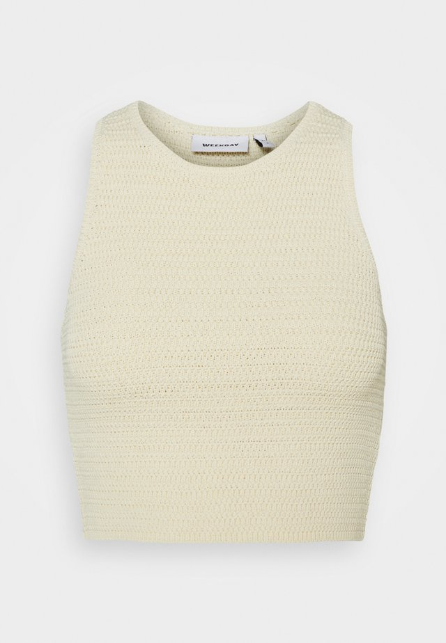 BAY COCHET TANK - Toppe - white light exclusive