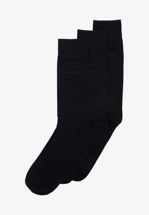 SOFT SOCKS 3 PACK - Socks - black