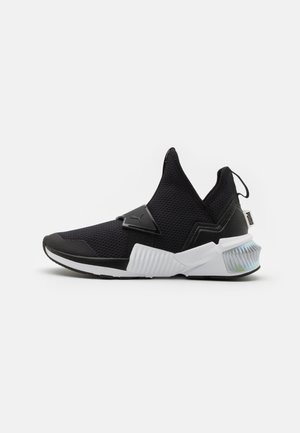 PROVOKE XT MID IRIDESCENT - Sports shoes - black/white