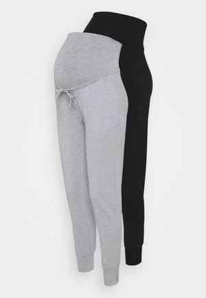 HADLEY 2 PACK - Trousers - grey/black