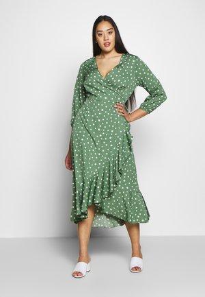 VMHENNA CALF DRESS - Day dress - dark ivy
