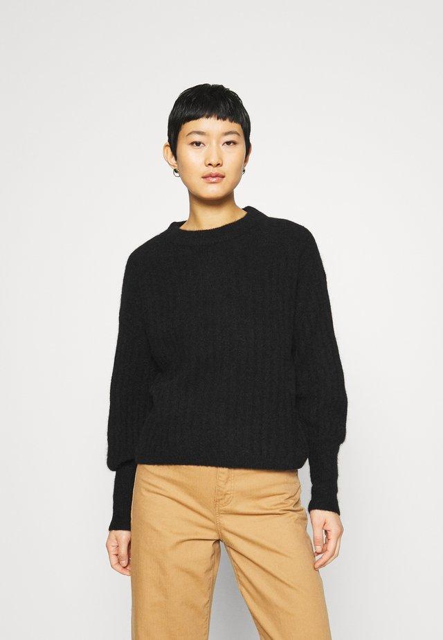 ALPIA - Sweter - black