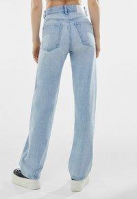 Bershka - Straight leg jeans - light blue - 2