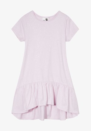 JOSS SHORT SLEEVE DRESS - Jersey dress - lavendar fog/galactic sparkle