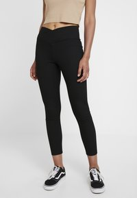 Topshop - BALLET - Leggings - Trousers - black - 0