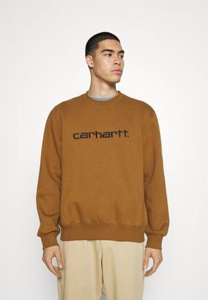 CARHARTT - Felpa - hamilton brown/black