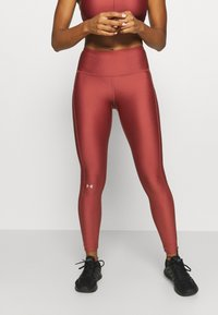 Under Armour - HI RISE LEGGING - Trikoot - cinna red - 0