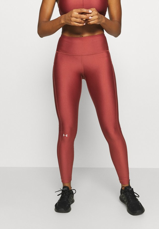 HI RISE LEGGING - Leggings - cinna red