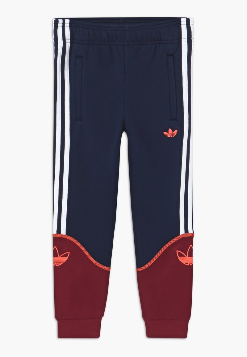 adidas Originals - OUTLINE PANTS - Verryttelyhousut - dark blue