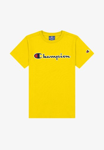 CREWNECK - Print T-shirt - mustard yellow