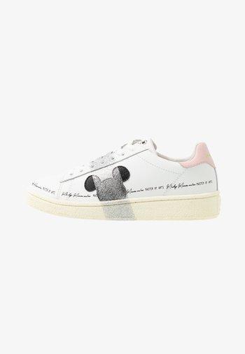 GRAND MASTER WHITE SILVER GLITTER - Trainers - white/silver glitter