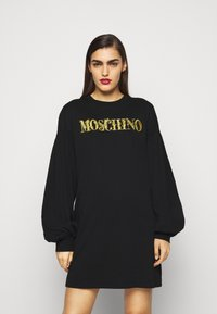 MOSCHINO - DRESS - Denní šaty - fantasy print black - 0