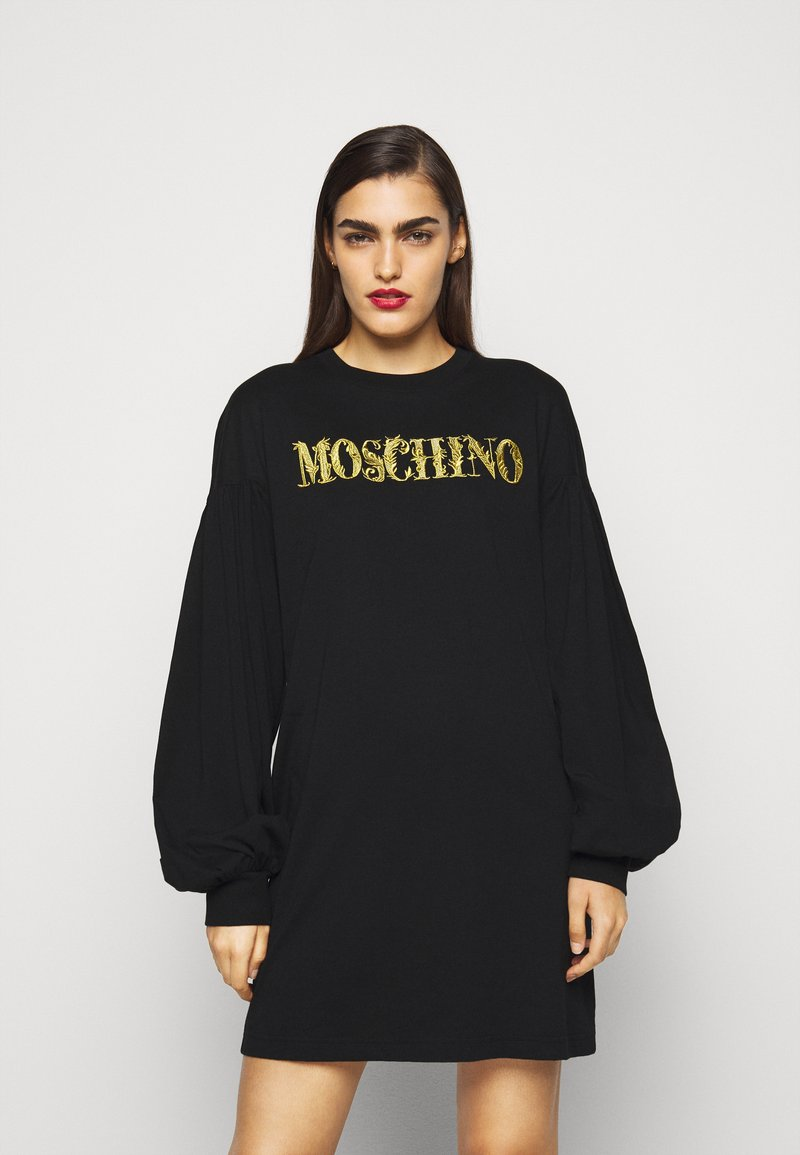 MOSCHINO - DRESS - Denní šaty - fantasy print black