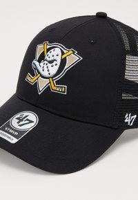 '47 - NHL ANAHEIM DUCKS BRANSON - Gorra - black - 3
