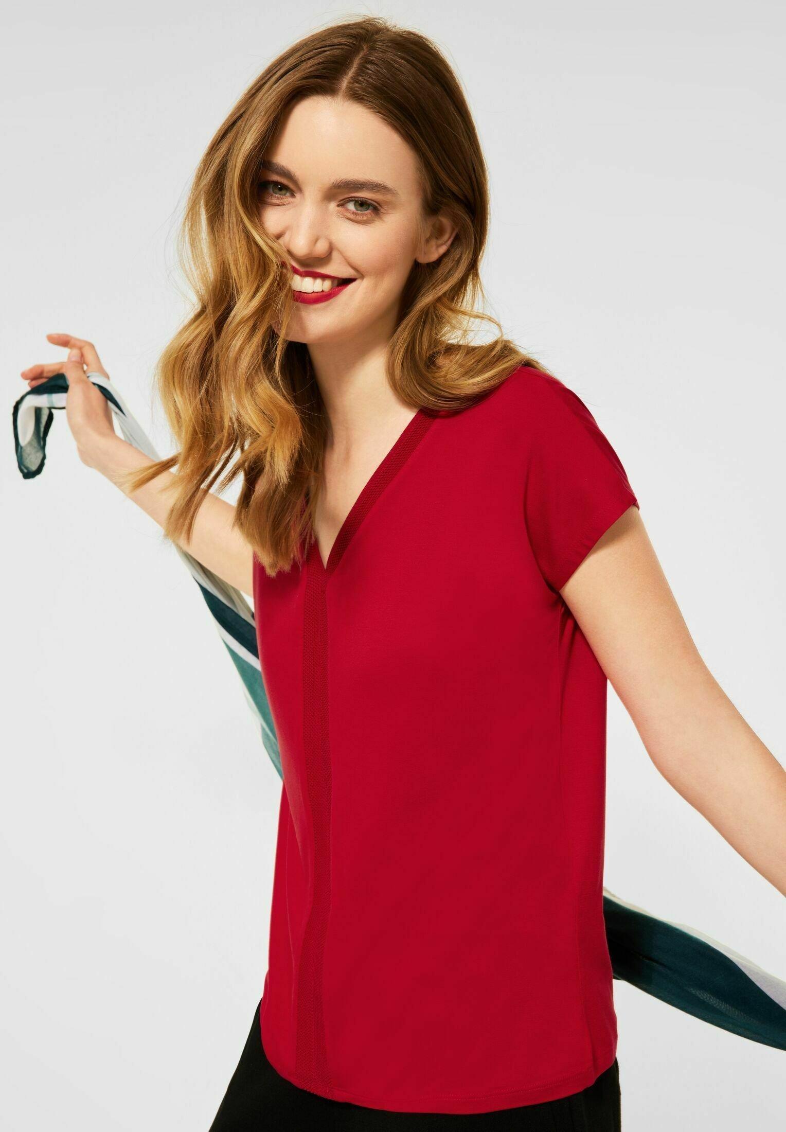 Damen MIT V-AUSSCHNITT - T-Shirt print